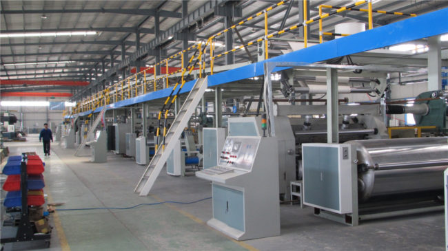 5 Ply Corrugated Paper Production Plant