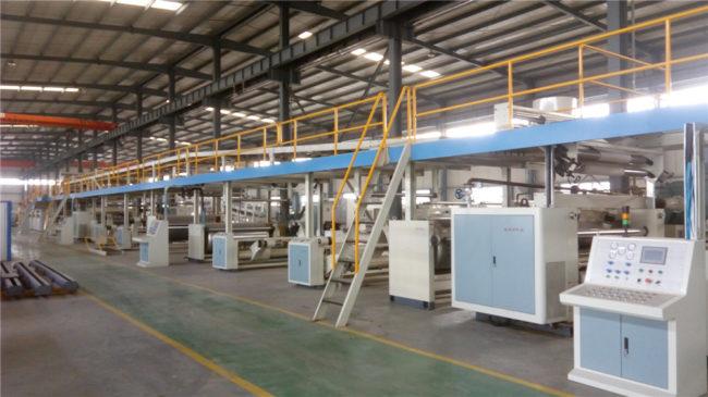 Automatic corrugated cardboard Plant