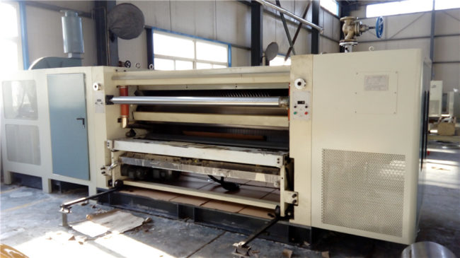 Single Facer-Corrugated Board Making Machine