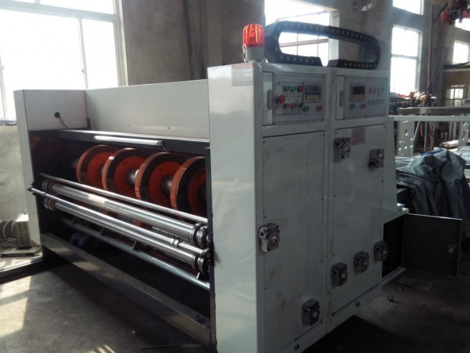 Automatic Slotting and Creasing machine for Corrugated Carton and Box