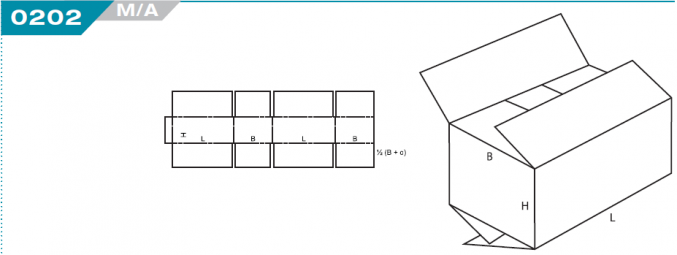 0202 Overlap Slotted Container (OSC)