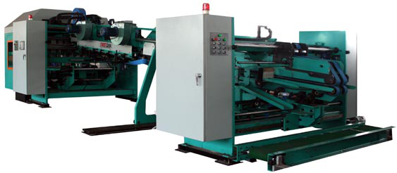 Delivery machine of flexo folder gluer