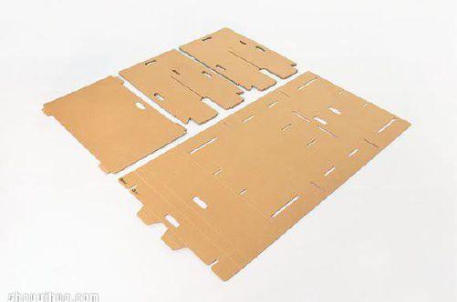 Die Cutting Corrugated Box Blank
