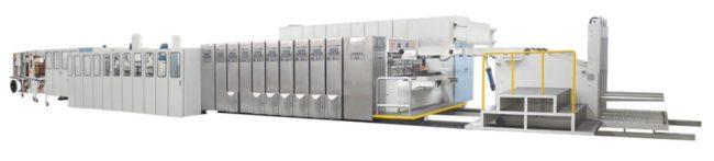 Automatic Corrugated Box Folding Gluing Machine